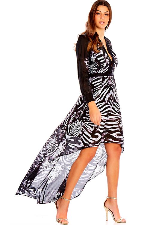 Primal Long Sleeve Dress ALT4