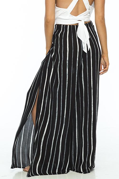 Black Stripe Eclipse Pant ALT2