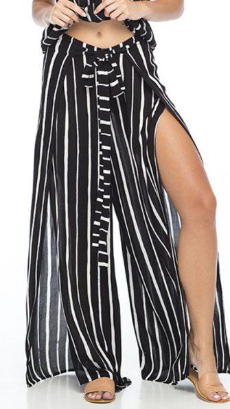 Black Stripe Eclipse Pant
