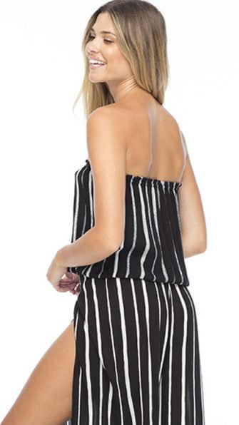 Black Stripe Gemma Tube Top ALT