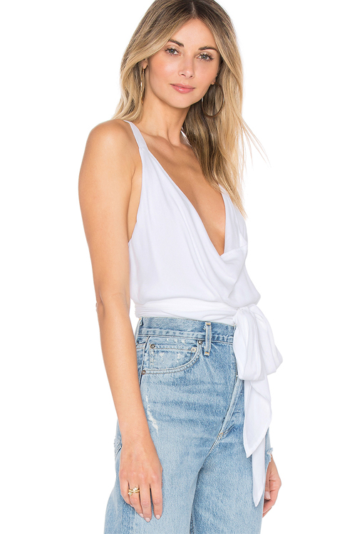 Solid White Playa Top