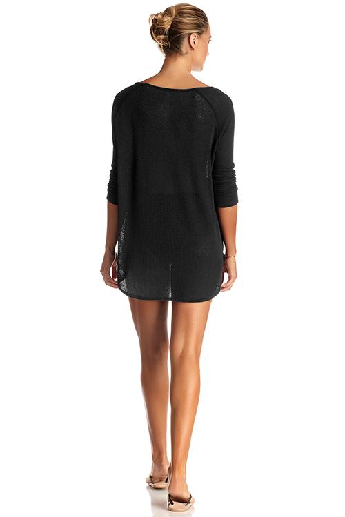 Black Drifter Beach Sweater ALT3
