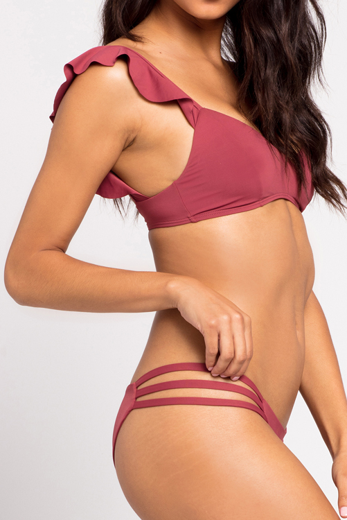 Currant Harper Bikini Top Rose Bottom Bikini ALT2