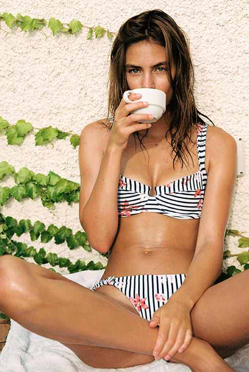 Floral Bay Camillia Top Sundrop Bottom Bikini LIF2