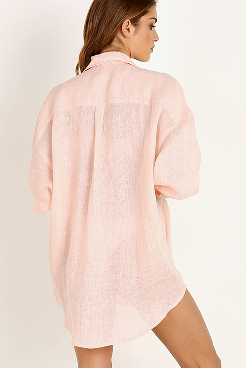 Perla Rosa Playa Shirt Dress_2