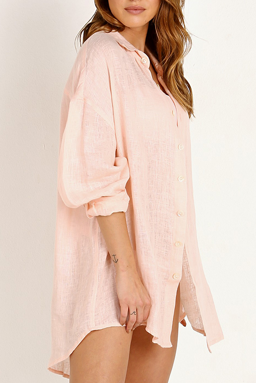 Perla Rosa Playa Shirt Dress_3