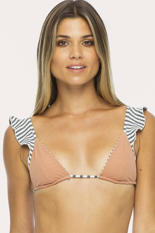 Blush Flutter Triangle Top