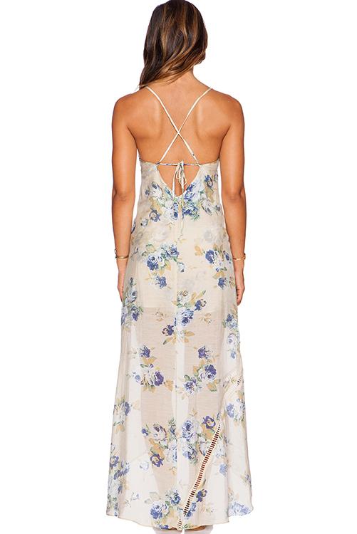 Misty Floral Maxi Dress_3