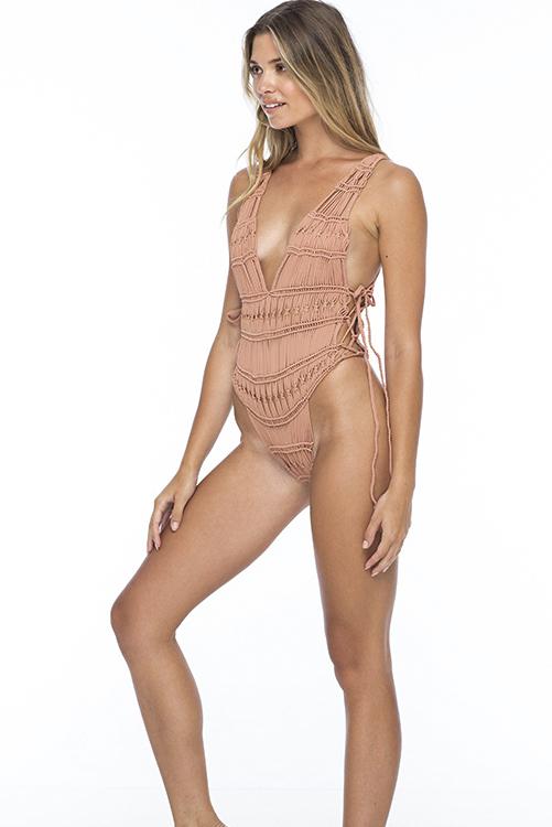 Blush Rhianna Macrame Bodysuit 2