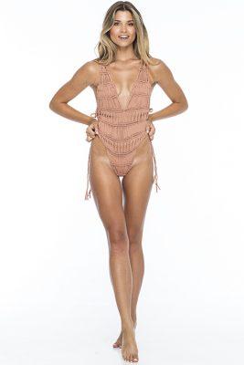 Blush Rhianna Macrame Bodysuit