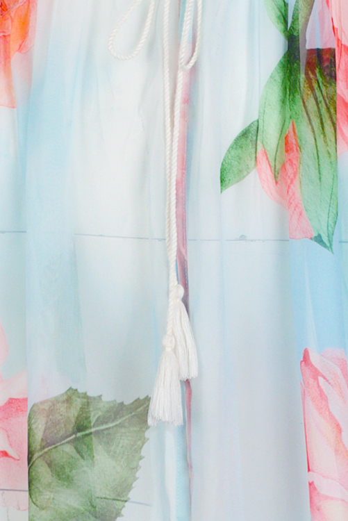 Sam Cotton Candy Tunic DETAIL