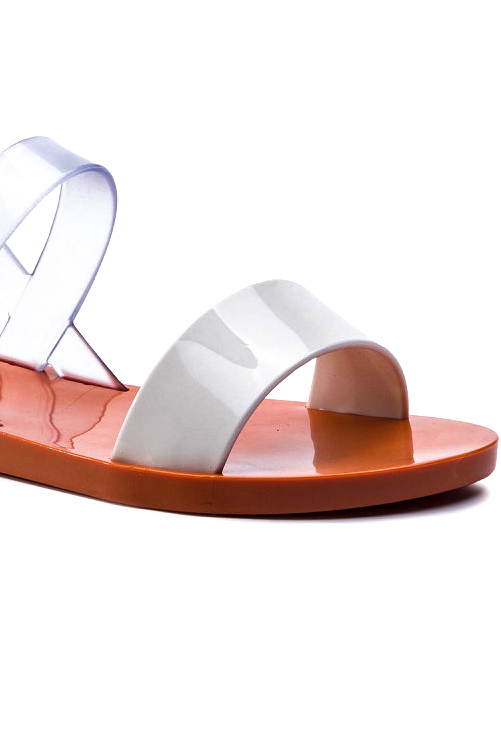 Clear White Lip AD Sandal_DETAIL
