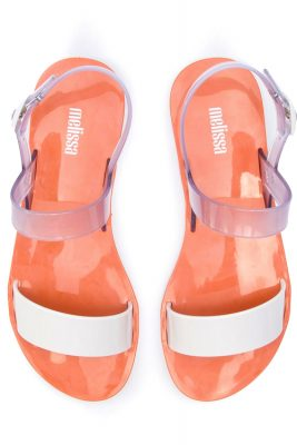 Clear White Lip AD Sandal