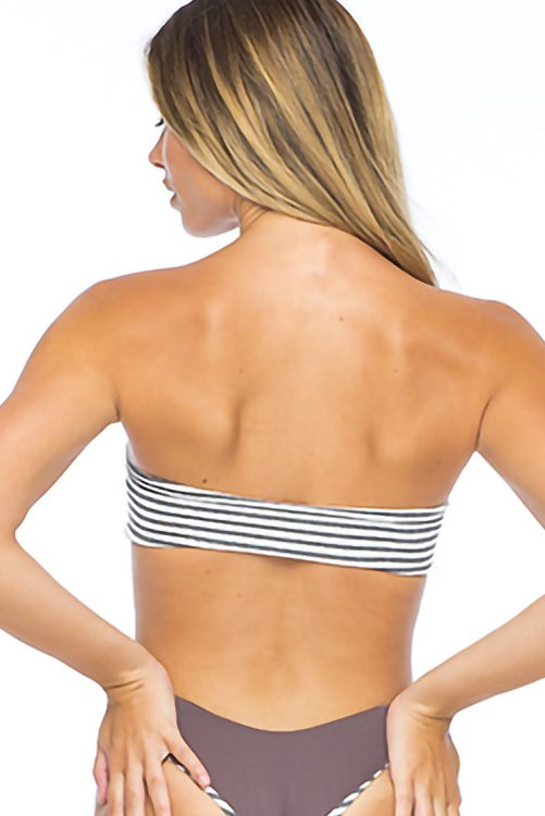 Bronze Toss Bandeau Top_2