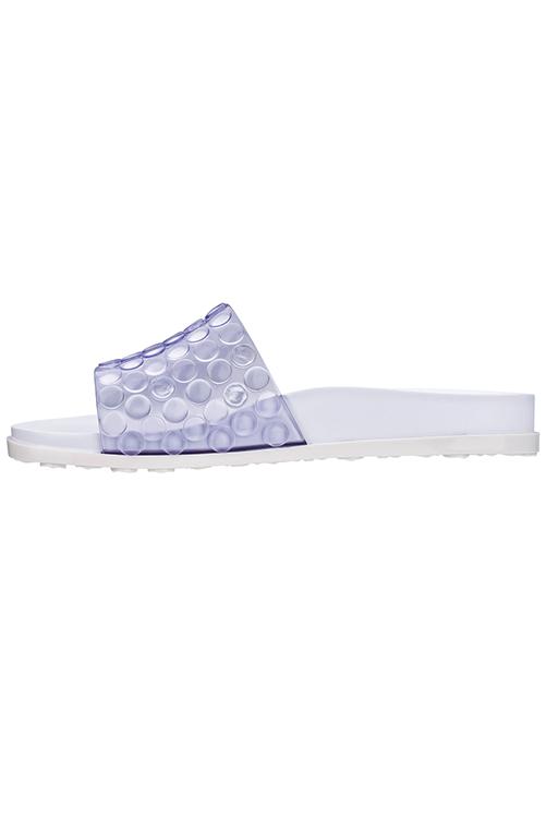 White Polibolha Slide Sandal_3