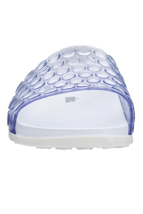 White Polibolha Slide Sandal_4