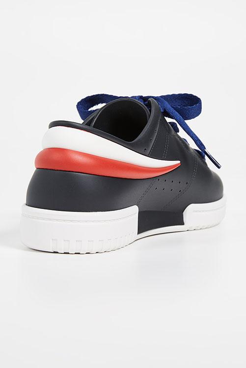Melissa + Fila Sneaker Black White_4
